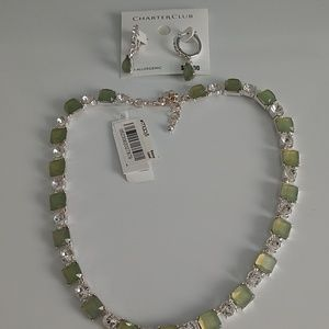 Charter Club Necklace & Bracelet